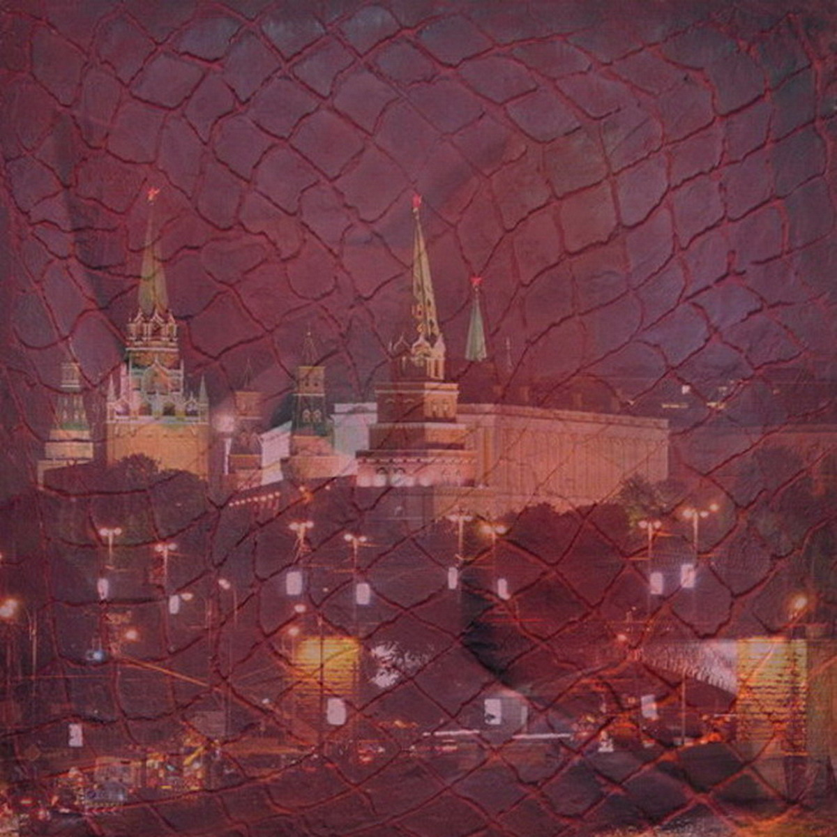 """Moscow. InterNet 2"", Art Collage, 2018"